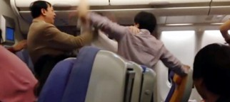 Plane diverted as passengers fight over seat