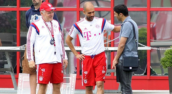 Pictorial: Vahid Hashemian at Bayern Munich Practice