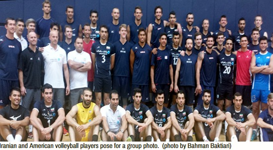 Iran US try volleyball diplomacy