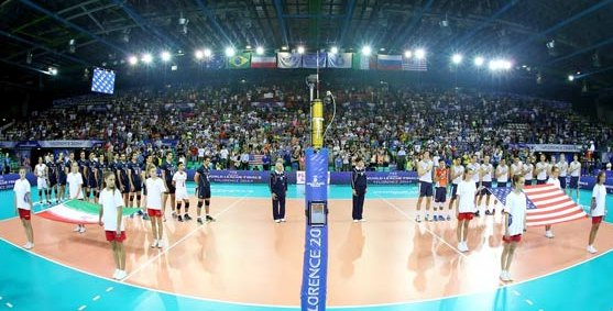 Iran volleyball team arrives in U.S. for 4 friendlies