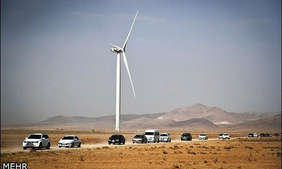 Iran's largest wind farm comes on stream