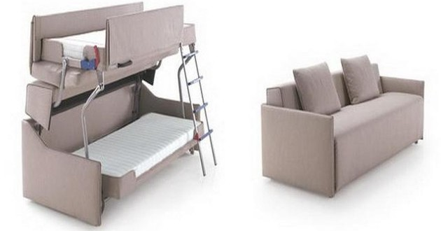 A Couch That Turns Into A Bunk Bed