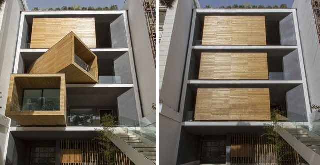 A home that moves in Tehran