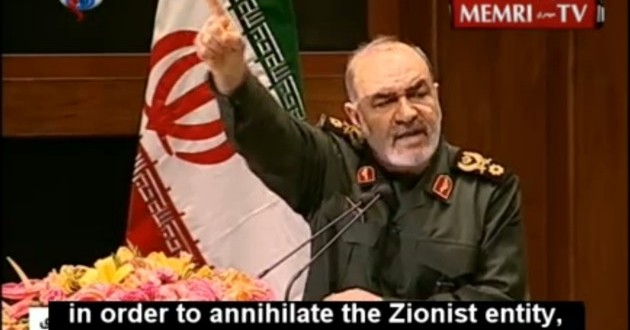 Iranian General Vows to Attack Israel