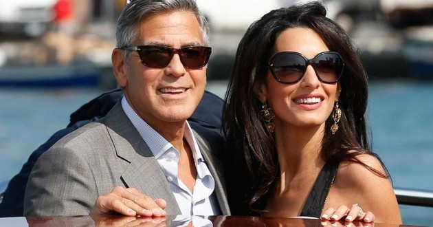 George Clooney marries in Venice