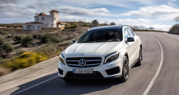 The new Mercedes Benz GLA class