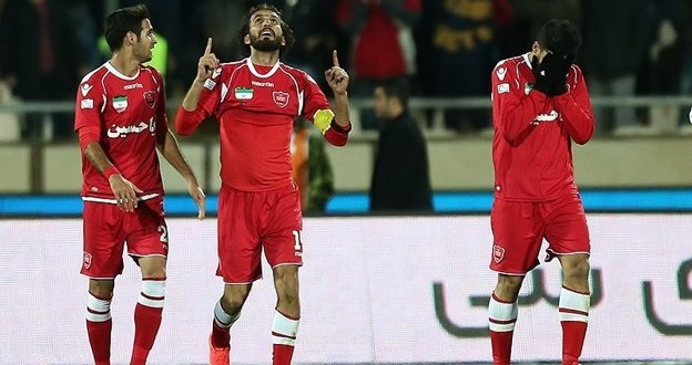 Pictorial of the Perspolis Derby Win