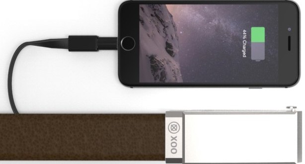 A Belt that charges your phone