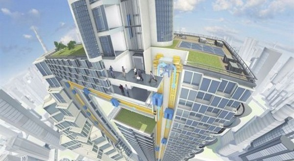 The Future: The Rope-Free Elevators