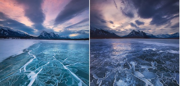 Dreamy Frozen Lakes from around the world