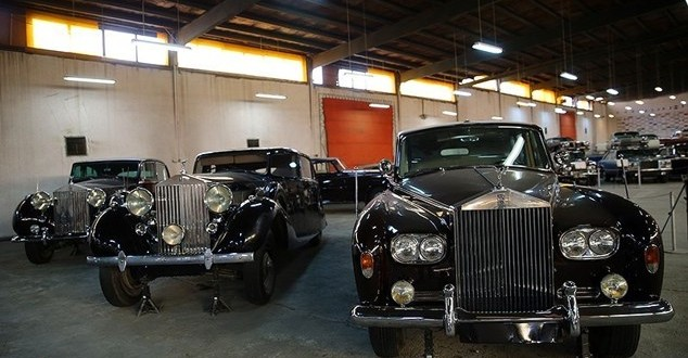 The Museum of Classic cars