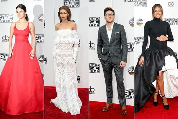 Luxury fashions in 2016 Music Awards