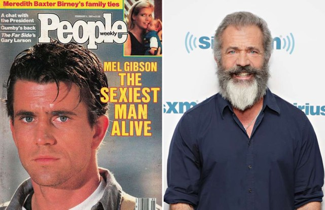 People's Sexiest Man Alive Then and Now