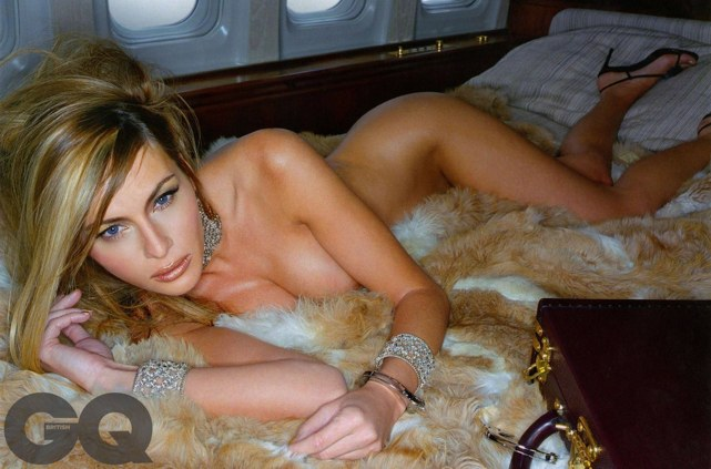 First Lady's GQ photo spread from 15 years ago