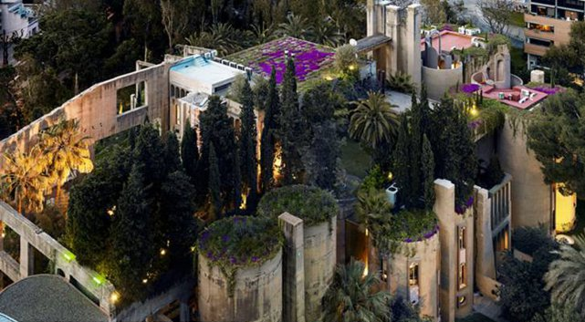 Former Cement Factory near Barcelona Turned into a Mansion