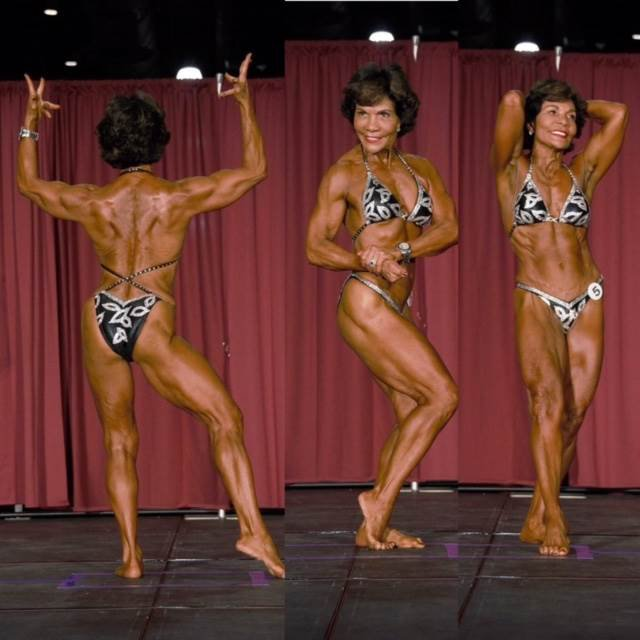 This Latina Bodybuilder Is 71