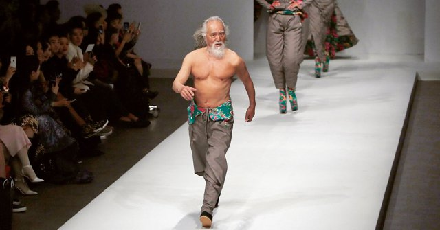 Wang Deshun, The man 80 year old Model