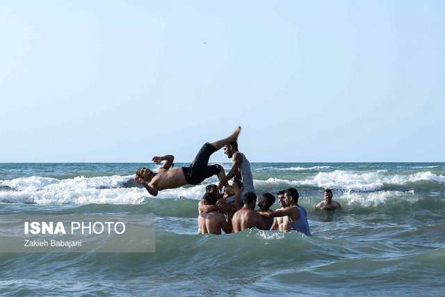 Pictures of Mazandaran Beaches