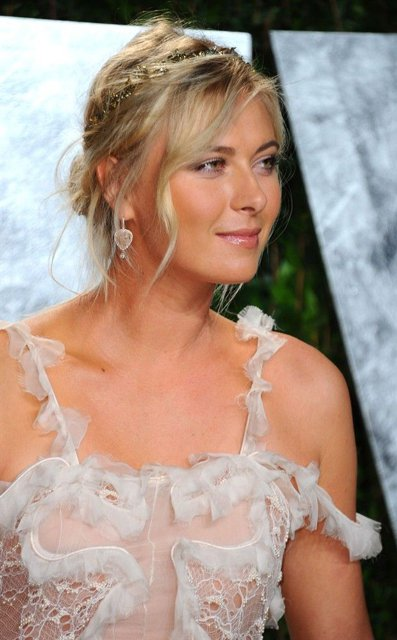 Pictures of Maria Sharapova, the world's most beautiful athlete