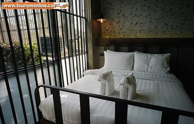 Book a room at the Thai prison themed hotel