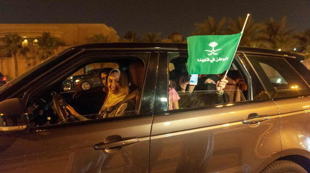 Driving women on the streets of Riyadh for the first time