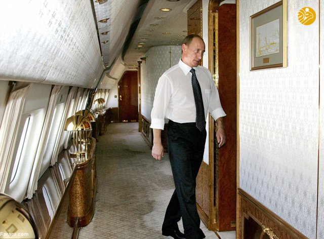 Putin's personal plane of the Russian President!