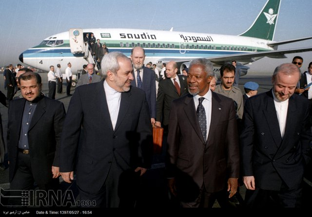 Kofi Annan Travels Through The Years