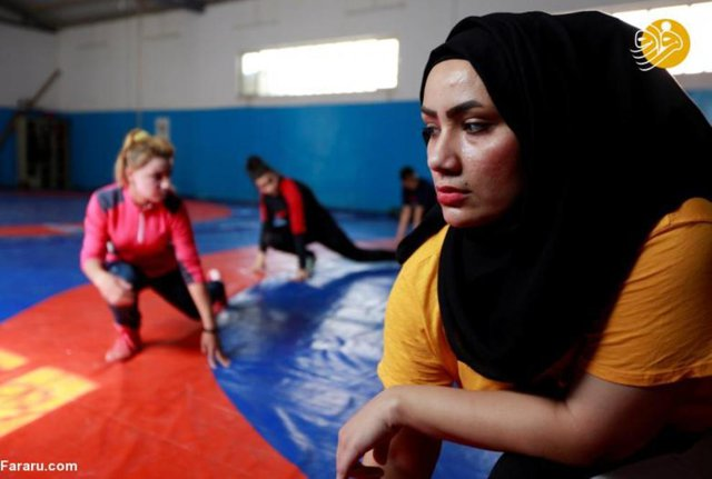 New sport among Iraqi women