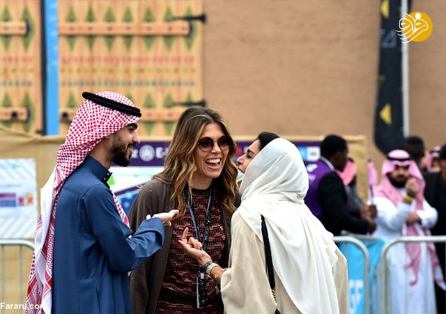Women in Riyadh Racing