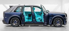 The most luxurious British SUV chassis with Mansouri Kit