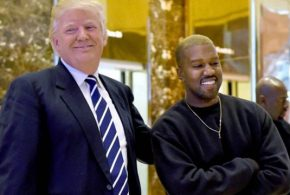 Kanye West cries, rambles at first presidential rally