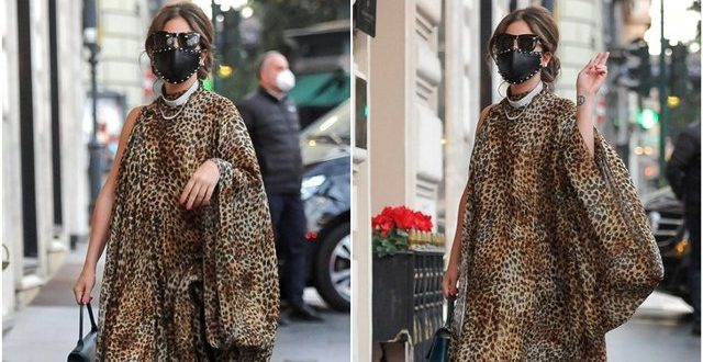 New style of Lady Gaga in Rome